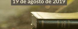 AUDIO – Primero el evangelio 26 | 19/ago/2019
