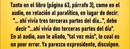 Fe de erratas lectura devocional 22/sep/2020